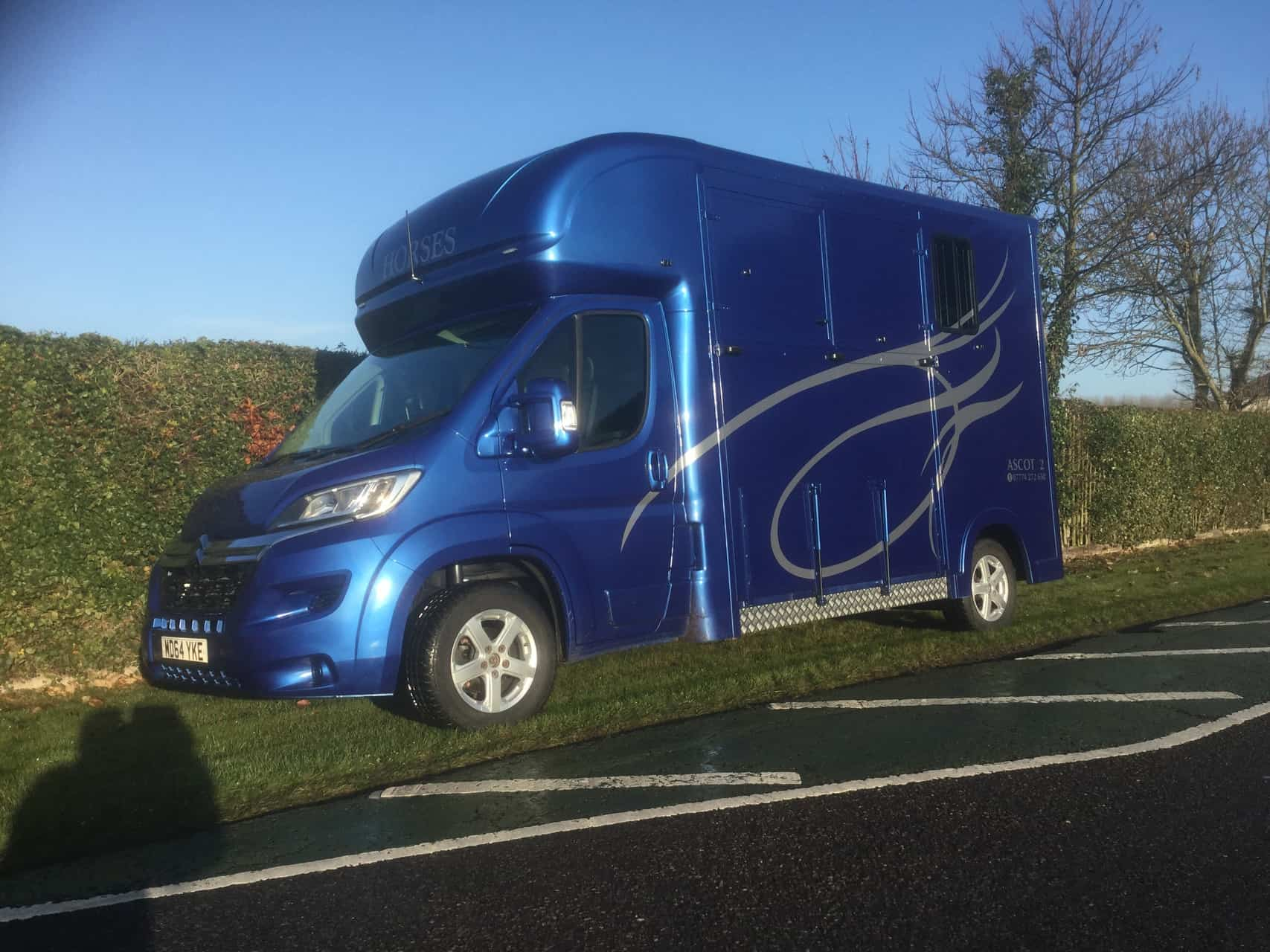 Ascot 2 ,£24,950  New build Citroen Relay 2014,LWB, 40,000 miles, Electric Pack,Cruise control. Bluetooth, Air Con, Sat Nav, Alloy wheels, Separate Day living