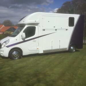 ASCOT 2  ,£26.950 separate Living, New Build,  Vauxhall Movano 15 Reg, 3.5 Ton ,LWB long stall  40,000 miles FSH,   Electric Pack, Sat Nav, Bluetooth