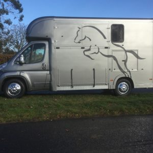 ASCOT 2  New Build, Silver 4.5 ton  12 Reg Peugeot  Boxer  Weekender Sleeps 3,  £ 27,950 + vat  , Long Wheel  Base, Sat nav, Electric Pack , Air Con