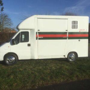 Pre owned 2 stall Citroen Relay £13,950 no vat, 06 Reg horsebox MWB with day living, sleeps 2, Sat Nav, CD/Radio, Electric Windows/Mirrors
