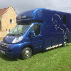ASCOT 2 Citroen Relay 62 RegNew Shape, 40,000 miles with FSH,£24,950 Full length Stallion Partition / Mares and Foal, Stalled for 2 separate day living/ Tack area