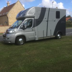 Ascot 2, Super Light, big payload, Citroen Relay new shape, 57Reg, 60,000 miles with Electric Pack, £21,950, Chrome Stallion Partition long stalls for 2 ,with separate Day Living/Tack Area,New MOT