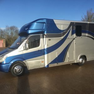 ASCOT 2, 3.5 Ton, Mercedes Sprinter 70,000 miles New Build ,Ideal for Stallion/Mares / Foal, Transport,£ 24,950 +vat, Full service record   LWB, Separate  living ,Sat Nav